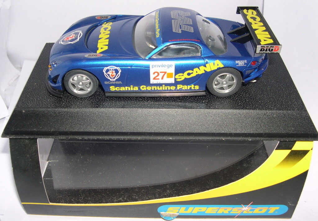 Superslot H2278 Tvr Speed  12   Scania  27   Scalextric UK MB  bellissimo
