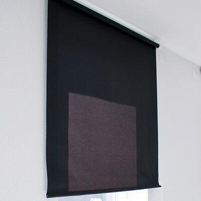 Rollo Seitenzugrollo Seitenzug blickdicht lichtdurchlässig 160x180cm BORDEAUX