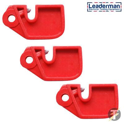 Leaderman Rot Mini Sicherung Mcb Gerät Für Isolation Und Lockout Lmlok4 Belebende Durchblutung Und Schmerzen Stoppen