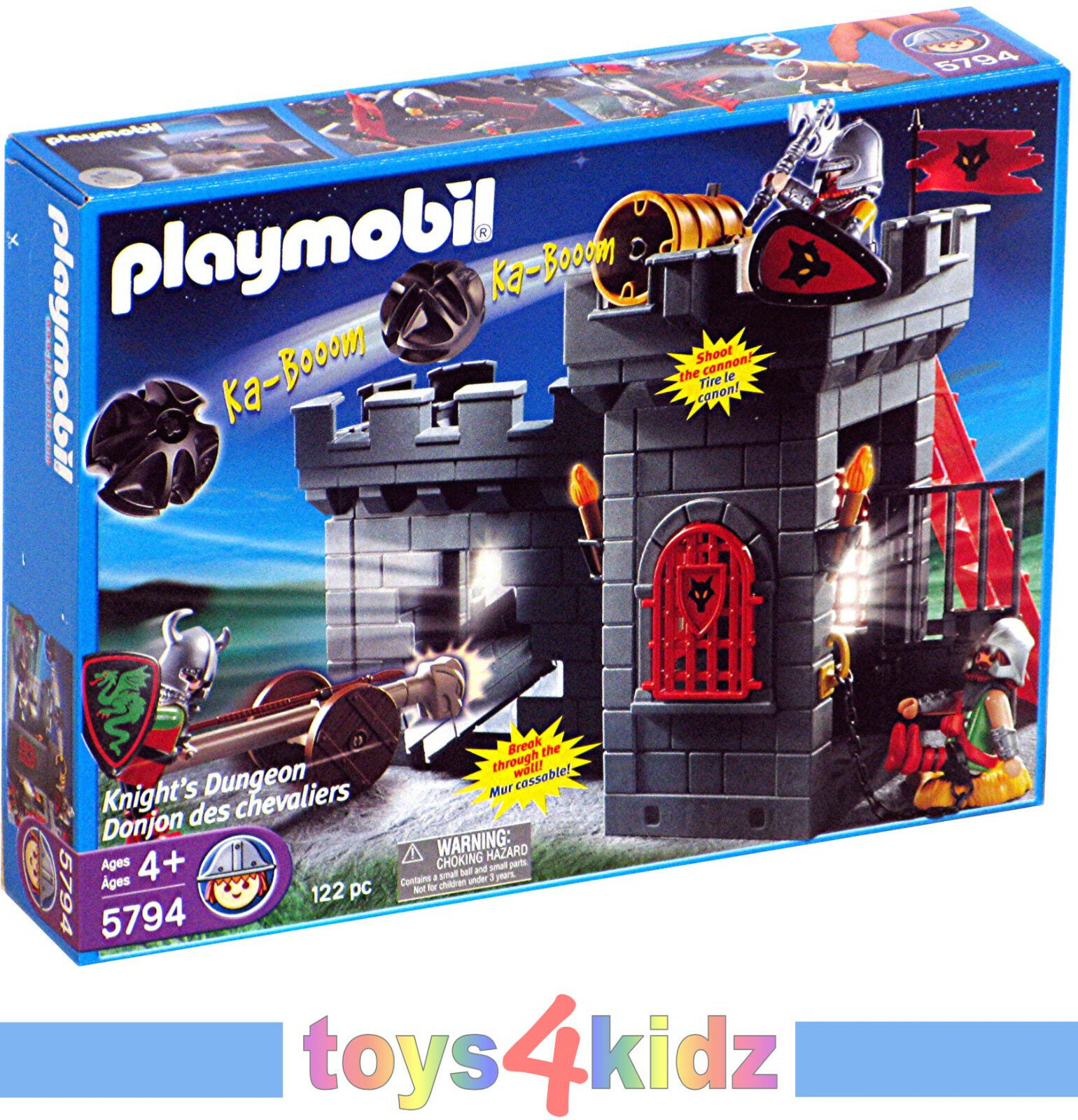 PLAYMOBIL® Knights 5794 Knight´s Dunegon   NEU / OVP