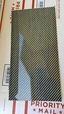 "Carbon Fiber Dye Fiberglass Panel Sheet 6""×18""×1/32"" Glossy One Side SILVER"