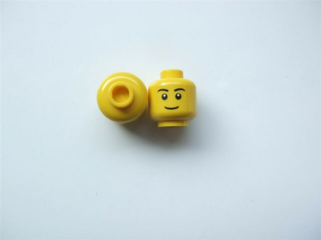 499 of CAS354 519716 /_Bright Yellow 4506998/_LEGO Dwarf Mini Head No x2