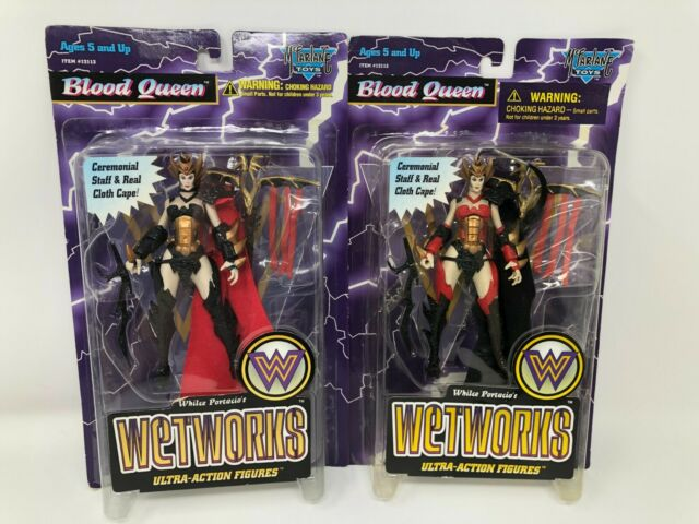 McFarlane Toys Spawn Wetworks Blood Queen Action Figure 1996 Ser 2 Lot VARIANTS