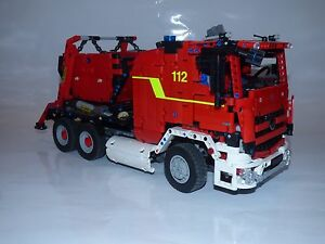 Bauanleitung instruction 42024 Feuerwehr Umbau Eigenbau Unikat Moc Lego Technic - Stockstadt, Deutschland - Bauanleitung instruction 42024 Feuerwehr Umbau Eigenbau Unikat Moc Lego Technic - Stockstadt, Deutschland
