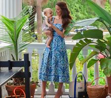Tory Burch Dress 6 Ramona Floral Blue Silk Blend celeb Runway $450