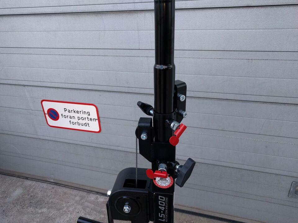 4 Meter - 80 kg LS-400 Letvægts stativer 2stk