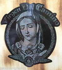 Oldschool Madonna Jesus Aufkleber / Sticker Biker V2 / Bobber & Harley USA