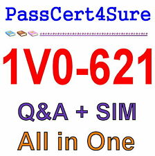 VMware Best Exam Practice Material for 1V0-621 Exam Q&A PDF+SIM