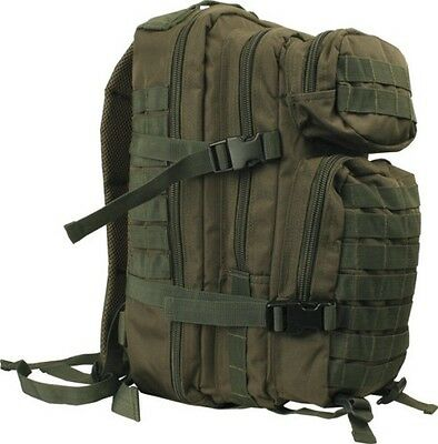ELITE TACTICAL SMALL Molle Patrol Pack ARMY OLIVE GREEN DAY SACK 28 Litres