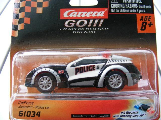 Carrera Go 61034 Carforce Executor Police Car Light USA
