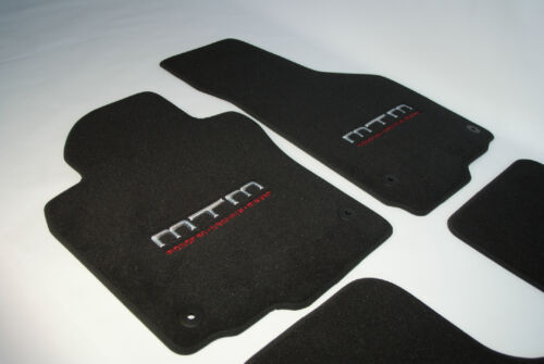 Original MTM Autoteppich Audi A6 S6 C5 Fußmatten Set 4 teilig Schwarz