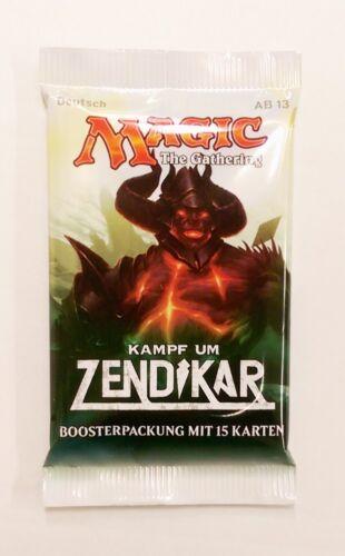 Kampf um Zendikar Booster deutsch Magic the Gathering MTG Trading Cards TCG