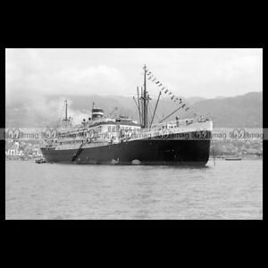 php-01844-Photo-MS-COLOMBIA-KNSM-CRUISE-1934-PAQUEBOT-OCEAN-LINER