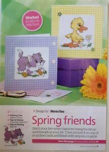 Spring-cross-stitch-card-pack-Spring-friends
