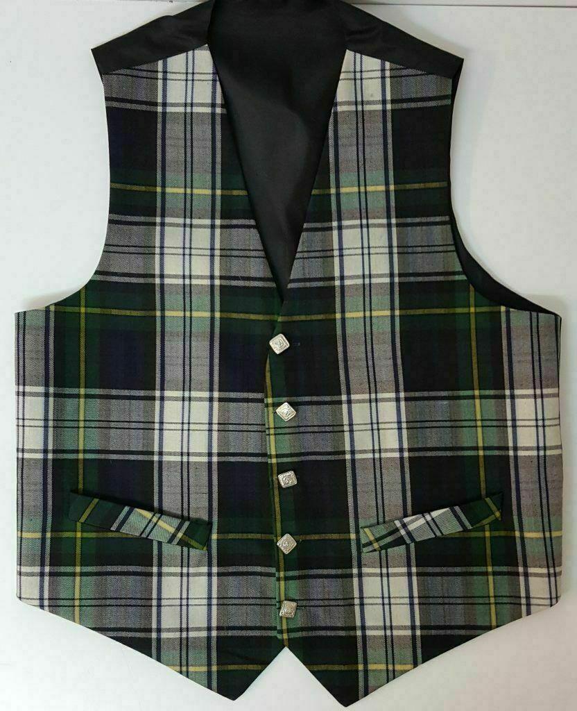 Dress Gordon Tartan Waistcoat vest REDUCED to clear
