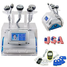 40KHz 5 in 1 Cavitation Vacuum Bipolar RF Slimming Machine Fat Soothing US