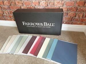 Farrow and Ball Paint - Samples on A4/A5 High Quality Card ...