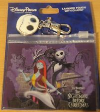 Walt Disney World Nightmare Before Christmas Lanyard Pouch with Jack Charm- NOC