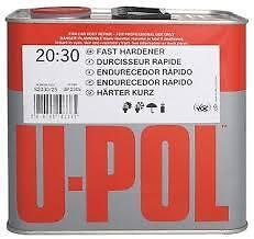 U-pol 2K Standard Universal 2.5L Hardener/ Activator Paint &Primers Lacquers