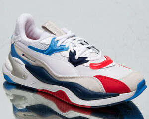 Puma x BMW Motorsport RS-2K Men's White Blue Red Low Athletic Lifestyle Sneakers