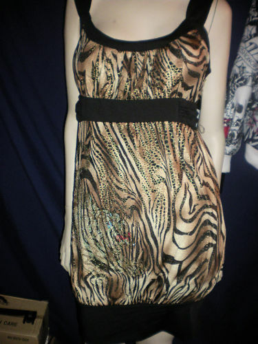 Ed Ed Ed Hardy Balla Tiger Dress NEW WITH TAGS 7a0914