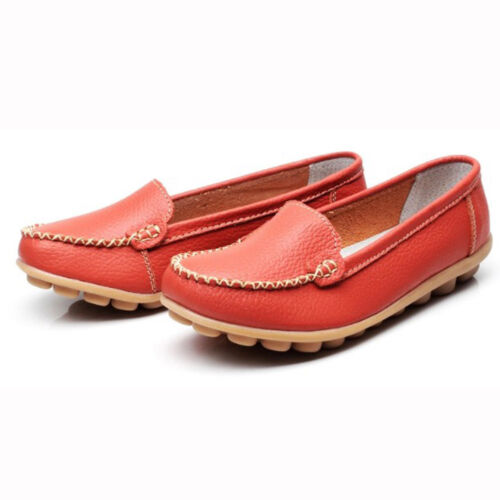 Women/'s Comfortable Casual Moccasins Work Peas Shoes Loafer Flats Pump Boat Size