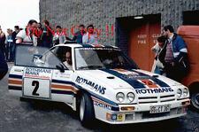 Henri Toivonen Rothmans Opel Manta 400 Manx Rally 1983 Photograph