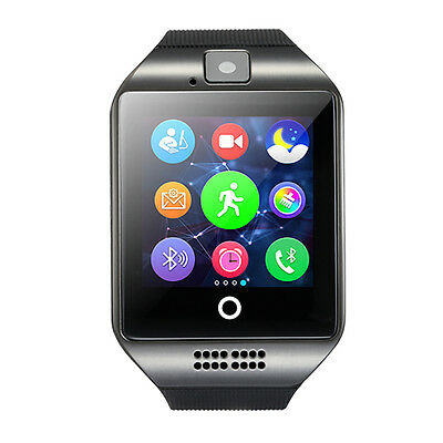 Bluetooth Smart Wrist Watch GSM SIM Card Phone For Android Samsung LG IOS iPhone