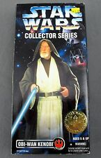 Star Wars Collector Series Obi-Wan Kenobi 12'' Figure CIB Kenner 1996 Variant
