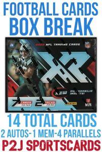 2020 PANINI XR FOOTBALL?CARD HOBBY Box BREAK?1 RANDOM TEAM?NFL?Break 4313
