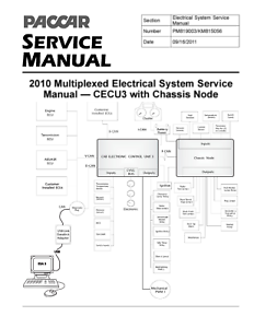 image is loading paccar-2010-multiplexed-electrical-system-service-manual