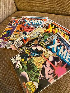 Uncanny-X-Men-144-145-146-148-Bronze-Age-Marvel-Wolverine-lot-run-key