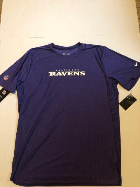 70d38335d5092 Nike NFL Baltimore Ravens Sideline Seismic Legend Performance T-Shirt  American Football