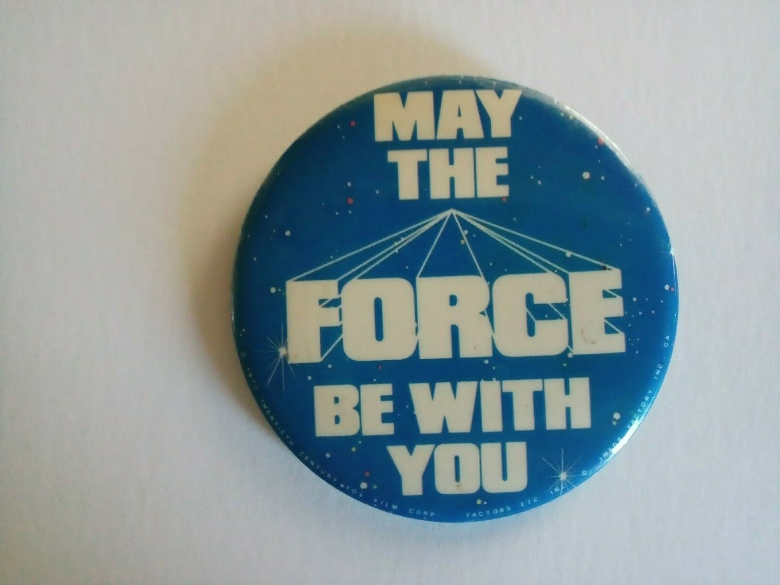 Star Wars 1977 Factors Etc May The Force Be With You Original