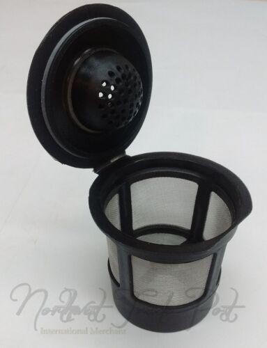 2x Cafe Cup Reusable Single Serve K-Cup Filter Keurig Coffee Espresso Maker Pods