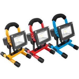 NINETEC-10W-LED-Akku-Flutlicht-Bau-Strahler-Arbeits-Leuchte-wasserdicht-kabellos