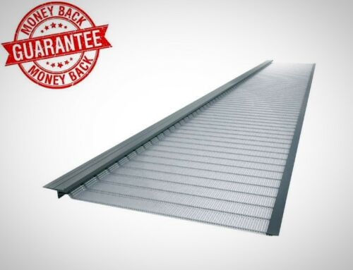 Micro Mesh Gutter Guard 20 Pack New Gutter Guard 4 Ft Stainless Steel 5 In