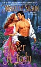 Never a Lady by Marlene Suson (2000, Paperback)