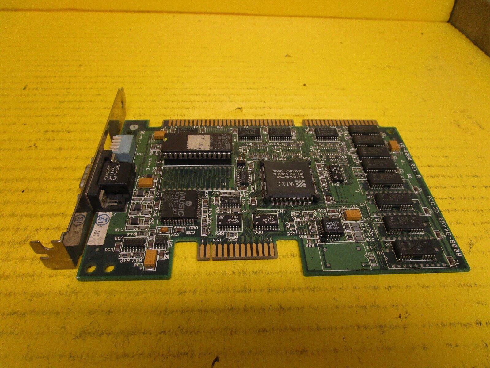 UNKNOWN NAME CIRCUIT BOARD VG-8000 REV A E5YVG-8000