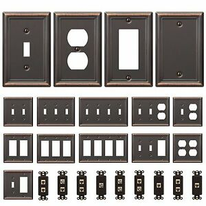 Image Is Loading Bronze Wall Switch Plate Toggle Outlet Cover Rocker