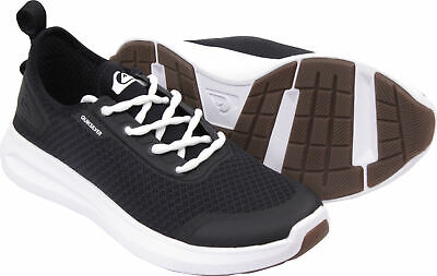 NWT Quiksilver LAYOVER TRAVEL SHOES Beach Boat Dock Water BLACK WHT XKKW   Mens