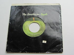 THE-BEATLES-1970s-EE-UU-Manzana-45-A-Hard-Days-Night