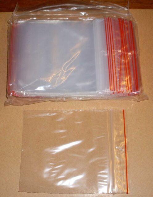 100 Tütchen Polybeutel 100 x 100 Druckverschluss Druckverschlussbeutel Zip Tüten