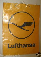 Lufthansa Airline Shopping Bag Duty Free Shop