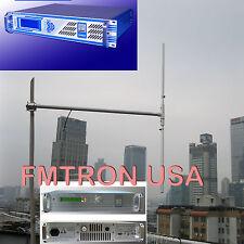 100w 150w 1/2 Half Wave FM Transmitter Dipole GP Antenna High gain outdoor