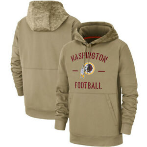 Washington-Redskins-Football-Hoodie-2019-Salute-to-Service-Sideline-Pullover-Top