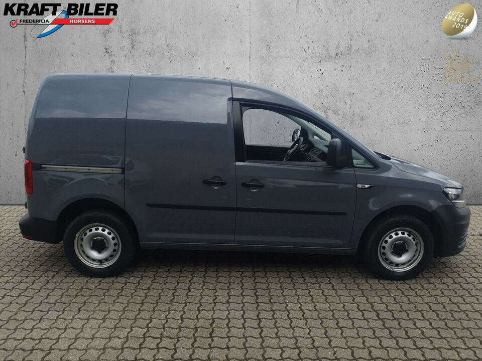 VW Caddy 1,0 TSi 102 BMT Van Benzin modelår 2018 Grå km 40000