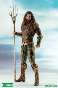 KOTOBUKIYA   ART FX+ JUSTICE LEAGUE MOVIE AQUAMAN 1 10 Scale FIGURE STATUE