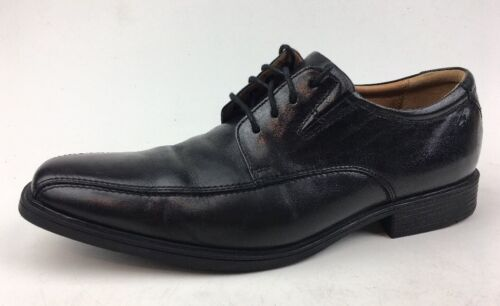 5m Dimensioni 826 Pelle Oxfords Clarks 9 Mens Dress nera Tilden Walk RwqnT0BAX