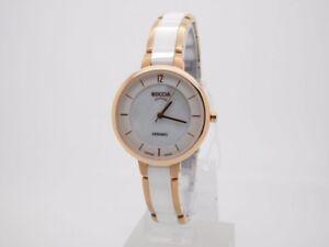Boccia-Damenuhr-Uhr-Titan-Titanium-Keramik-Weiss-Rose-Saphirglas-3236-03